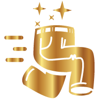general ticket gold icon